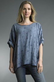 Tempo Paris  PRINTED TOP - Product Mini Image
