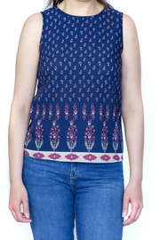 Fashion Pickle Printed Top Sleeveless - Product Mini Image