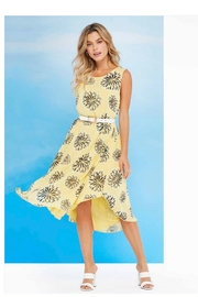 Charlie B. Printed Trapeze Dress - Product Mini Image