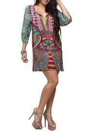 58ff9f7a7bc Aryeh Printed Sleeveless Dress from Alabama by Kitty Couture ...