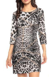 Adore Clothes & More Printed Tunic Dress - Product Mini Image