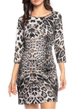 Adore Clothes & More Printed Tunic Dress - Alternate List Image
