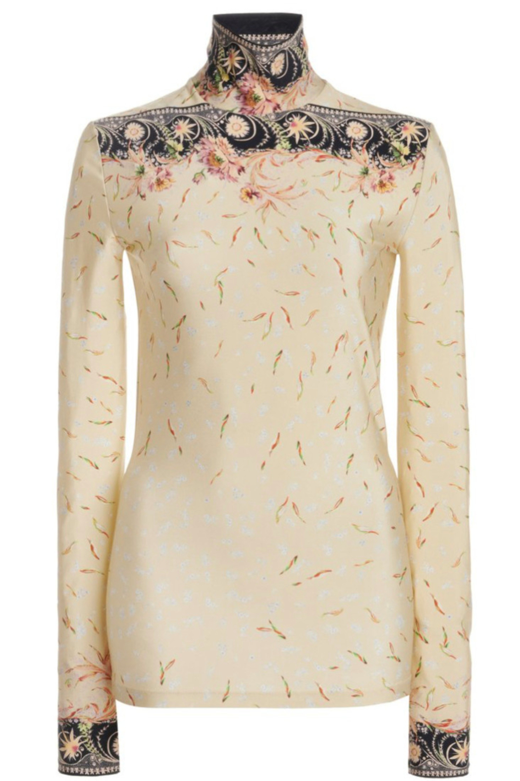 Paco Rabanne PRINTED TURTLENECK - Front Full Image