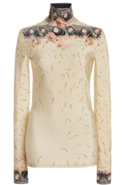 Paco Rabanne PRINTED TURTLENECK - Front full body