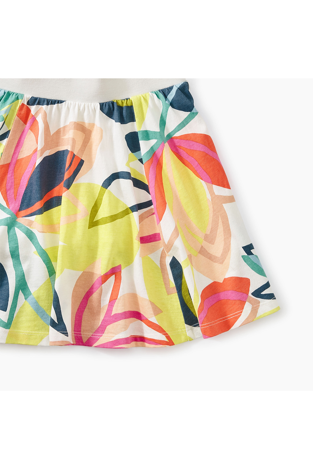 Tea Collection Printed Twirl Skort - Front Full Image