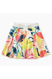 Tea Collection Printed Twirl Skort - Front cropped
