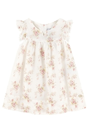 Tartine et Chocolat Printed Voile Dress - Front cropped