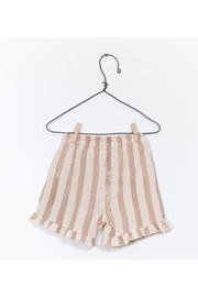 Play Up Printed Woven Shorts - Front full body