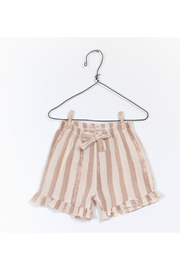 Play Up Printed Woven Shorts - Front cropped
