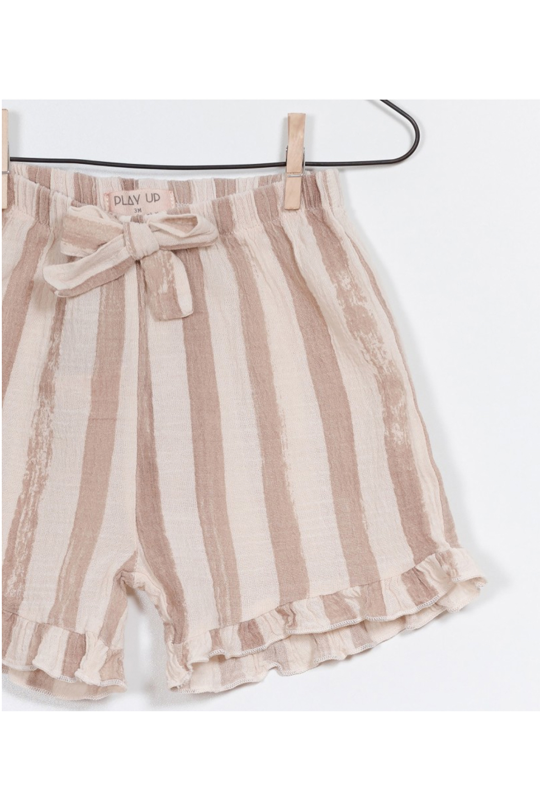 Play Up Printed Woven Shorts - Side Cropped Image