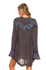 Lola P. Printed Woven Tunic - Side cropped