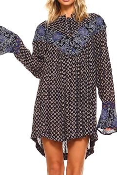 Lola P. Printed Woven Tunic - Product List Image