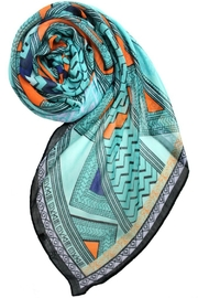 Printed Village African Tribe Scarf - Product Mini Image
