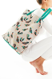 Printed Village Chickens Tote Bag - Product Mini Image