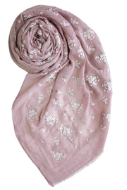 Printed Village Daisies Scarf - Product Mini Image
