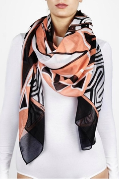 Printed Village Deco-Maze Print Scarf - Product List Image