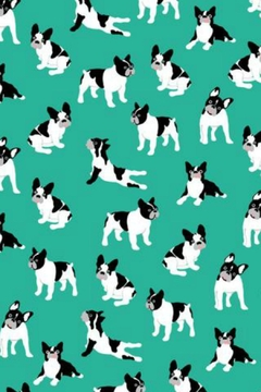 Printed Village French Bulldog Scarf - Alternate List Image