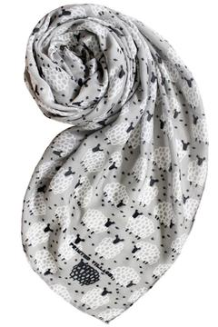 Shoptiques Product: Sheep Motif Scarf