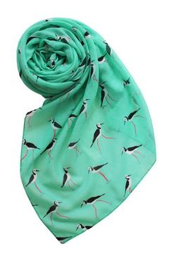 Shoptiques Product: Shorebirds Motif Scarf
