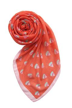 Shoptiques Product: Watermelon Motif Scarf