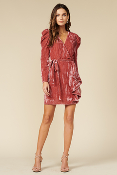 Adelyn Rae Priscilla Wrap Dress - Alternate List Image