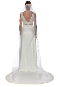 Shoptiques Product: Penelope Lace Cathedral Veil