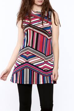 Private Label Stripe Tunic Top - Product List Image