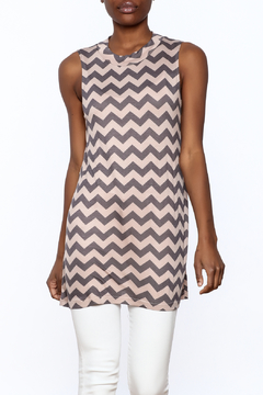 Private Label Zigzag Tunic Top - Product List Image