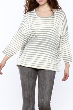 Shoptiques Product: Striped Boxy Top