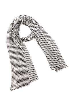 Private Label White Oblong Scarf - Product List Image