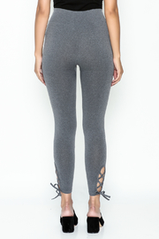Private Label Criss Cross Leggings - Back cropped