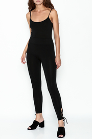 Private Label Criss Cross Leggings - Side cropped