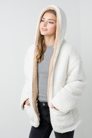 Private Label Faux-Sherpa Reversible Hoodie - Other