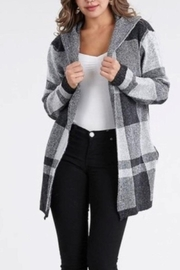 Private Label Hooded Blazer - Front cropped