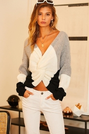 Private Label Reversable Sweater - Front cropped