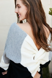 Private Label Reversable Sweater - Side cropped