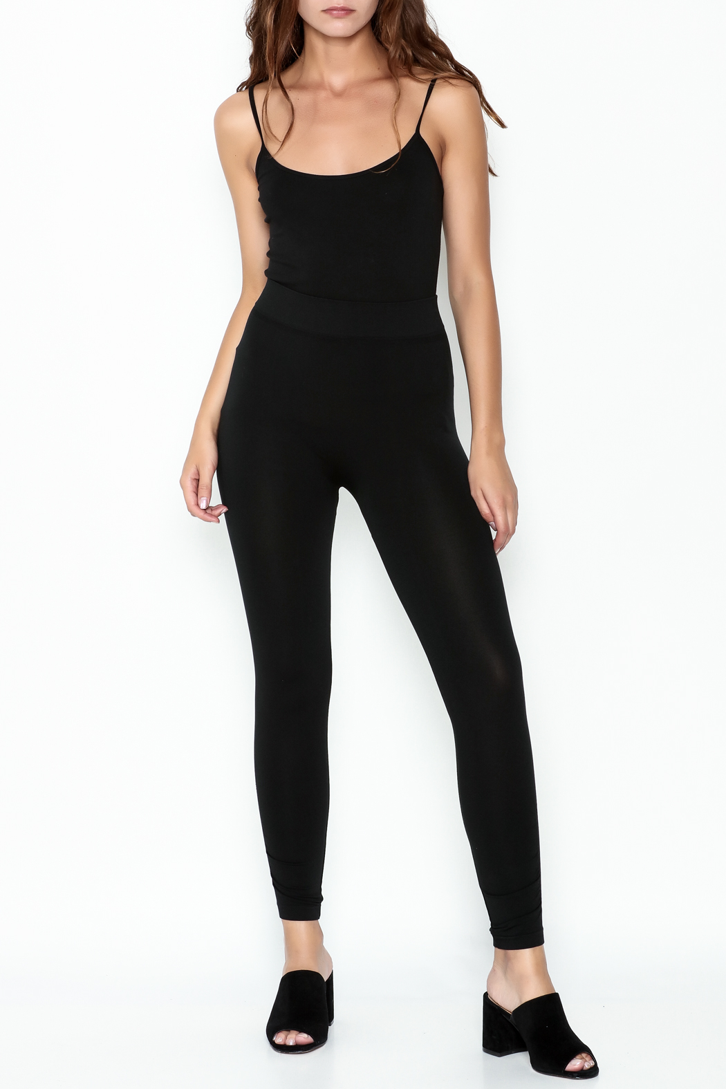 Private Label Ruched Leggings - Side Cropped Image