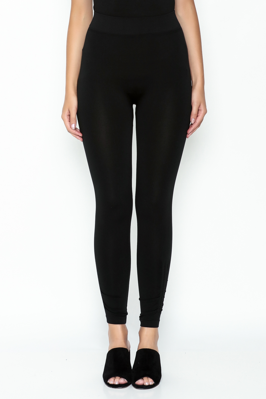 Private Label Ruched Leggings - Front Full Image