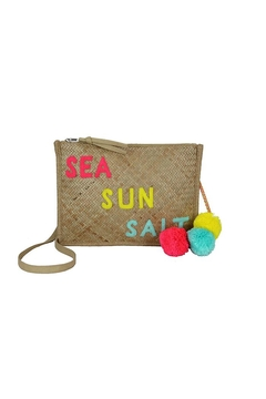 Shoptiques Product: Summer Straw Crossbody