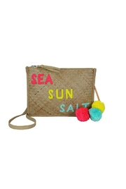 Private Label Summer Straw Crossbody - Product Mini Image