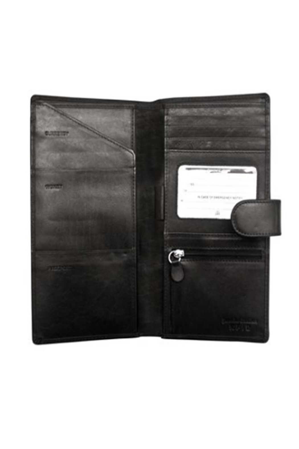 Private Label Travel Wallet - Front Full Image