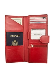 Private Label Travel Wallet - Front full body