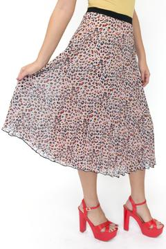 privy Animal Print Skirt - Product List Image