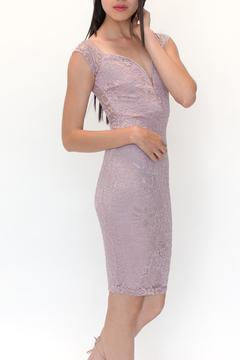 privy Lace Plunge Dress - Product List Image