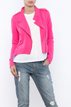 privy Pink Casual Jacket - Product List Image