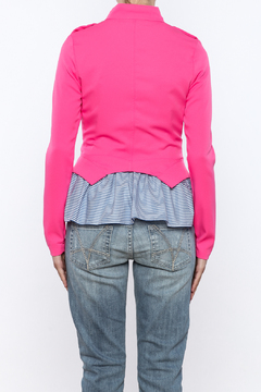 privy Pink Casual Jacket - Alternate List Image