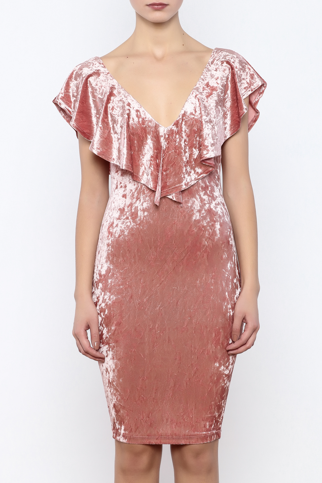 Privy Pink Velvet Dress From Montclair By That Little