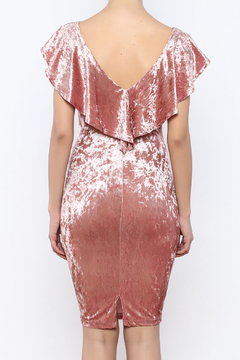 privy Pink Velvet Dress - Alternate List Image