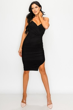 privy Ruched Cutout Midi Dress - Product List Image