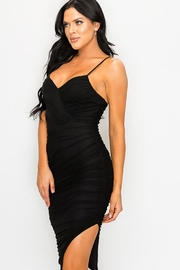 privy Ruched Cutout Midi Dress - Other